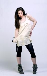 White frock-sac